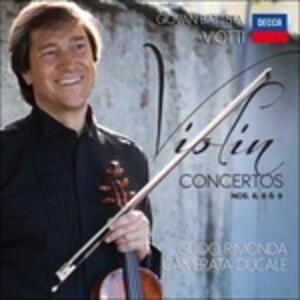 Concerti per violino n.6, n.9, n.8 - CD Audio di Giovanni Battista Viotti,Guido Rimonda