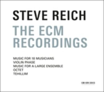 CD The ECM Recordings di Steve Reich