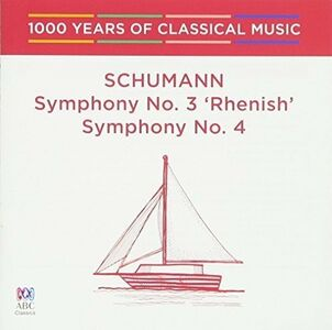 CD Symphony No 3 di Robert Schumann