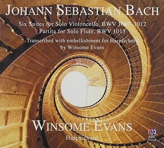 CD Six Suites For di Johann Sebastian Bach