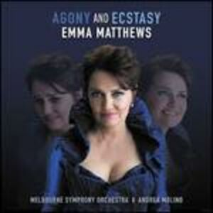 CD Agony & Ecstacy di Emma Matthews