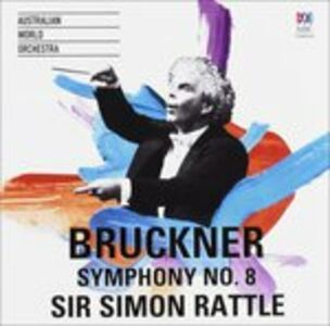 CD Bruckner. Symphony di Anton Bruckner