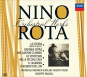 La strada vol.5 - CD Audio di Nino Rota,Orchestra Sinfonica di Milano Giuseppe Verdi,Giuseppe Grazioli