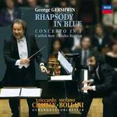 Vinile Rapsodia in Blu George Gershwin Stefano Bollani Riccardo Chailly