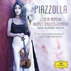CD Piazzolla London Philharmonic Orchestra Leticia Moreno