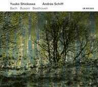 CD Sonata per violino n.3 BWV 1016 Johann Sebastian Bach Andras Schiff Yuuko Shiokawa