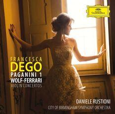 CD Concerto per violino n.1 op.6 / Concerto per violino op.26 Niccolò Paganini Ermanno Wolf-Ferrari City of Birmingham Symphony Orchestra