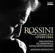 CD Ouvertures complete Gioachino Rossini Donato Renzetti Orchestra Filarmonica Gioachino Rossini
