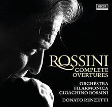 Ouvertures complete (Box Set) - CD Audio di Gioachino Rossini,Donato Renzetti,Orchestra Filarmonica Gioachino Rossini