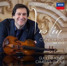 Concerti per pianoforte n.10, n.13 - CD Audio di Giovanni Battista Viotti,Guido Rimonda,Camerata Ducale