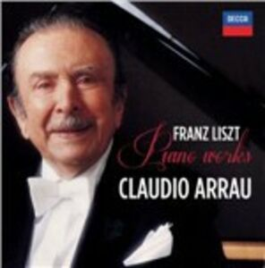CD Piano Works di Franz Liszt