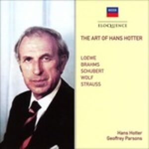 CD Art of di Hans Hotter