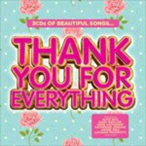CD Thank You for Everthing