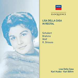 CD Lisa Della Casa in Recita