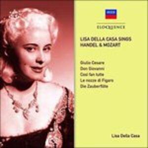 CD Sings Handel & Mozart di Lisa Della Casa
