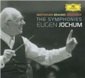 CD Sinfonie Ludwig van Beethoven , Johannes Brahms , Anton Bruckner
