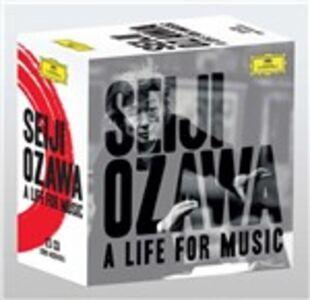 Foto Cover di A Life for Music, CD di Seiji Ozawa, prodotto da Deutsche Grammophon