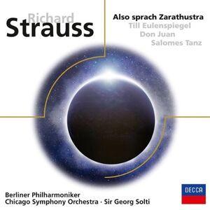 Foto Cover di Così parlò Zarathustra (Also Sprach Zarathustra), CD di Richard Strauss, prodotto da Decca