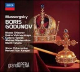 CD Boris Godunov Modest Petrovich Mussorgsky Herbert Von Karajan Nicolai Ghiaurov
