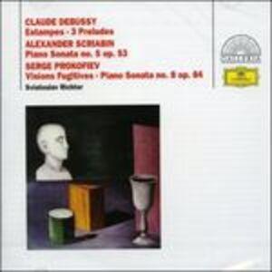 CD Sonate per pianoforte Sergei Sergeevic Prokofiev , Alexander Nikolayevich Scriabin