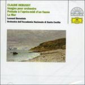 CD La mer - Images - Preludi di Claude Debussy