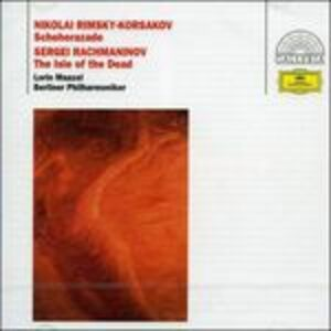 CD Shéhérazade / L'isola dei morti Sergei Vasilevich Rachmaninov , Nikolai Rimsky-Korsakov