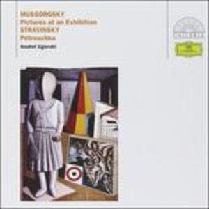 CD Quadri di un'esposizione / Petrushka Modest Petrovich Mussorgsky , Igor Stravinsky