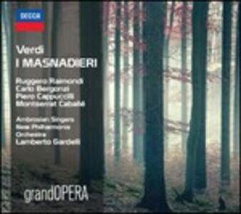 Foto Cover di I Masnadieri, CD di AA.VV prodotto da Decca