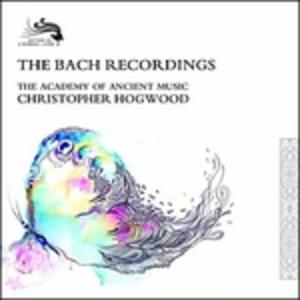 CD The Bach Recordings Carl Philipp Emanuel Bach , Johann Christian Bach , Johann Sebastian Bach , Wilhelm Friedmann Bach