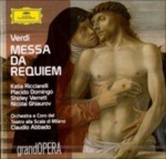 CD Messa da Requiem Giuseppe Verdi Claudio Abbado Orchestra del Teatro alla Scala di Milano