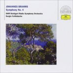 CD Sinfonia n.4 di Johannes Brahms