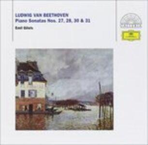 CD Sonate per pianoforte n.27, n.28, n.30, n.31 di Ludwig van Beethoven
