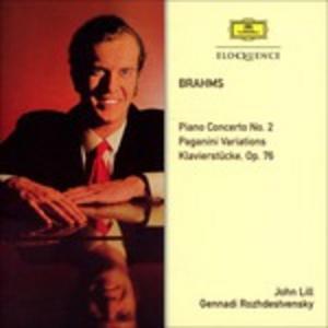 CD Piano Concerto No.2 - Paga di Johannes Brahms