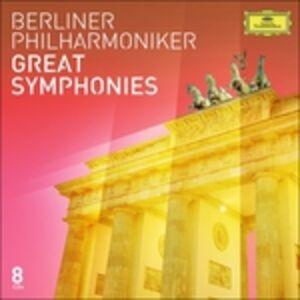 Foto Cover di Great Symphonies, CD di Berliner Philharmoniker, prodotto da Deutsche Grammophon