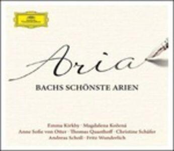 CD Aria. Le più belle arie di J.S. Bach di Johann Sebastian Bach