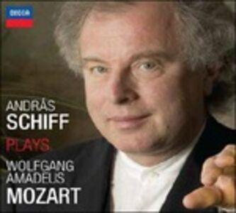 Foto Cover di Schiff suona Mozart, CD di Wolfgang Amadeus Mozart,Andras Schiff, prodotto da Decca