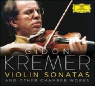 Foto Cover di Sonate per violino, CD di Gidon Kremer, prodotto da Deutsche Grammophon