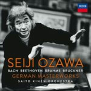 Foto Cover di German Masterworks, CD di Seiji Ozawa,Saito Kinen Orchestra, prodotto da Decca