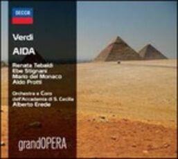 CD Aida Giuseppe Verdi Mario Del Monaco Renata Tebaldi