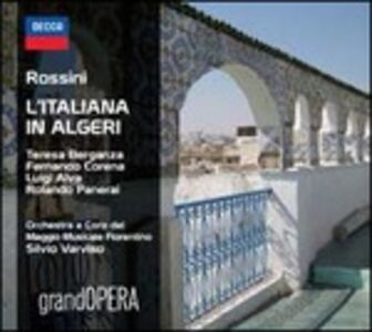 CD L'italiana in Algeri di Gioachino Rossini