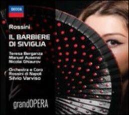 CD Il barbiere di Siviglia Gioachino Rossini Teresa Berganza Silvio Varviso