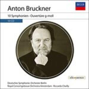 CD 10 Sinfonie di Anton Bruckner