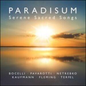 CD Paradisium. Serene Sacred Songs
