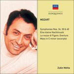 CD Symphonies di Wolfgang Amadeus Mozart