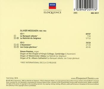 Musica per Organo - CD Audio di Olivier Messiaen - 2