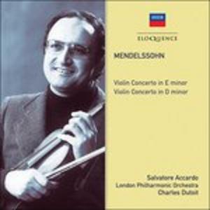 CD Violin Concertos di Felix Mendelssohn-Bartholdy