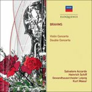 CD Violin Concerto di Johannes Brahms