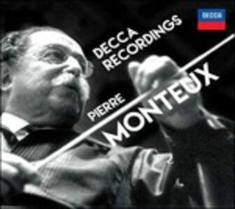 Foto Cover di Decca Recordings, CD di Pierre Monteux, prodotto da Decca