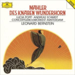 CD Il corno magico del fanciullo (Des Knaben Wunderhorn) di Gustav Mahler