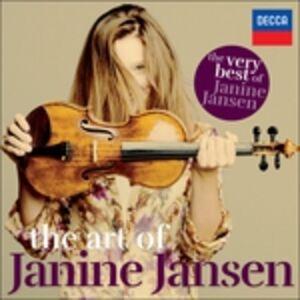 Foto Cover di The Art of Janine Jansen, CD di Janine Jansen, prodotto da Universal